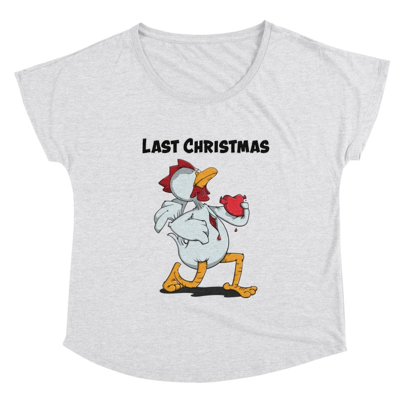 Last Christmas I gave You my Heart Women's Scoop Neck by Illustrated Madness