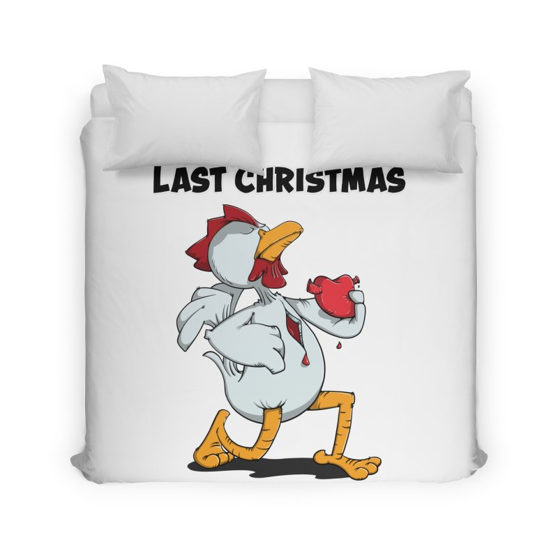 Last Christmas I gave You my Heart Home Duvet by Illustrated Madness