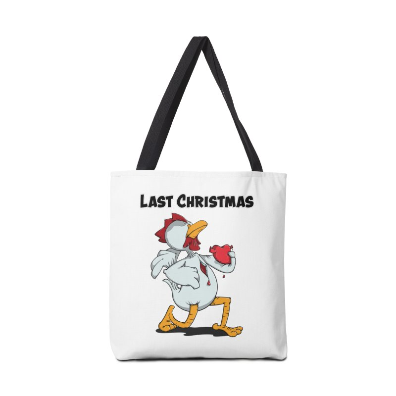 Last Christmas I gave You my Heart Accessories Tote Bag Bag by Illustrated Madness