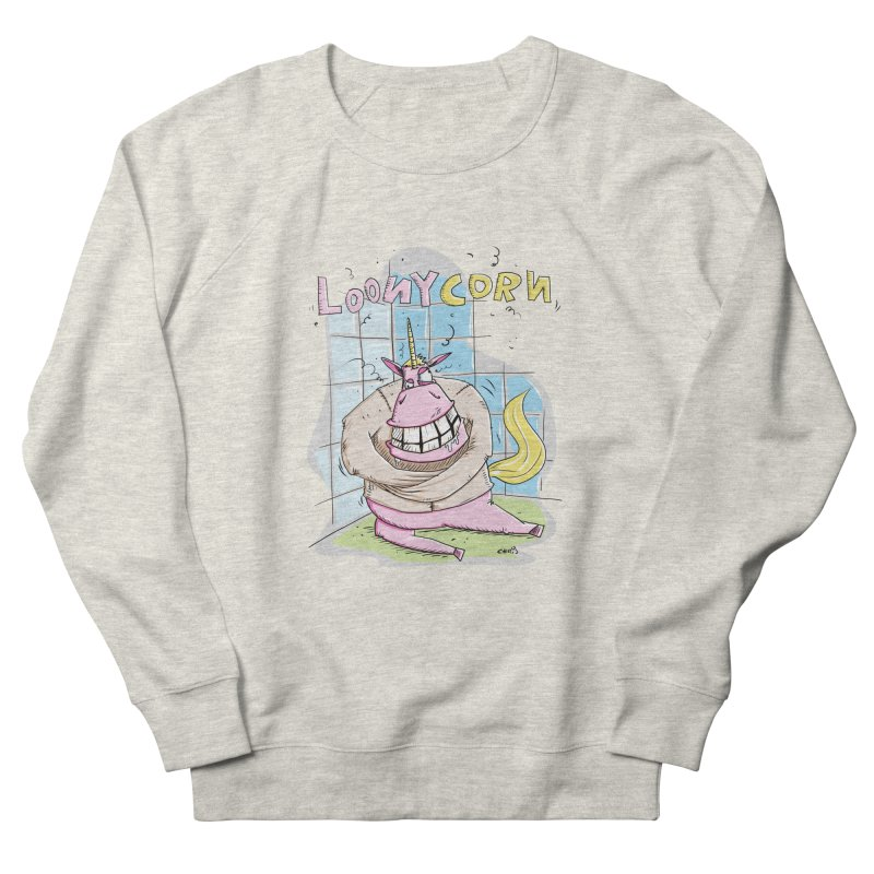 Loony Unicorn - Loonycorn Women's Sweatshirt by Illustrated Madness