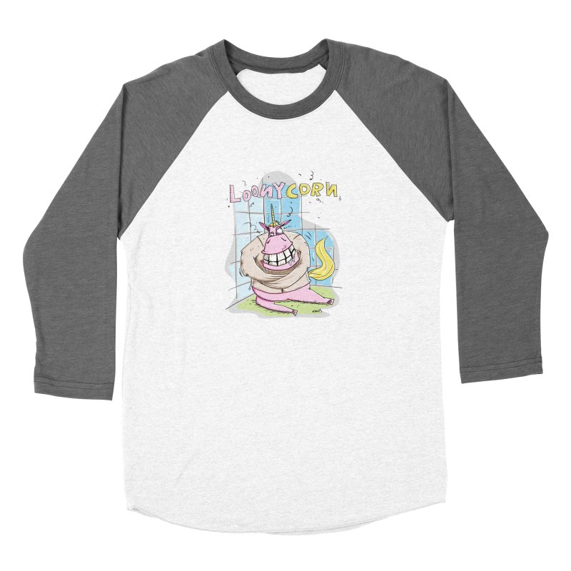 Loony Unicorn - Loonycorn Women's Longsleeve T-Shirt by Illustrated Madness