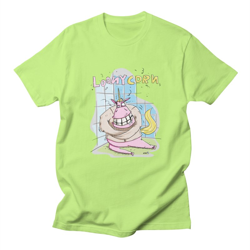 Loony Unicorn - Loonycorn Women's Unisex T-Shirt by Illustrated Madness