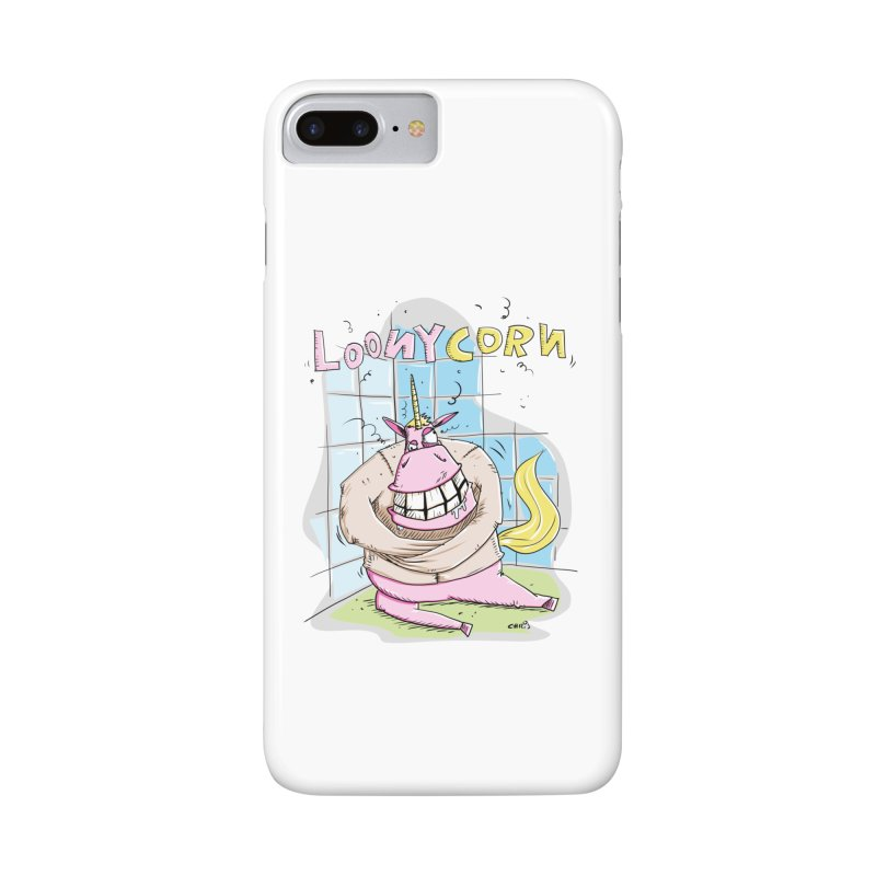 Loony Unicorn - Loonycorn Accessories Phone Case by Illustrated Madness