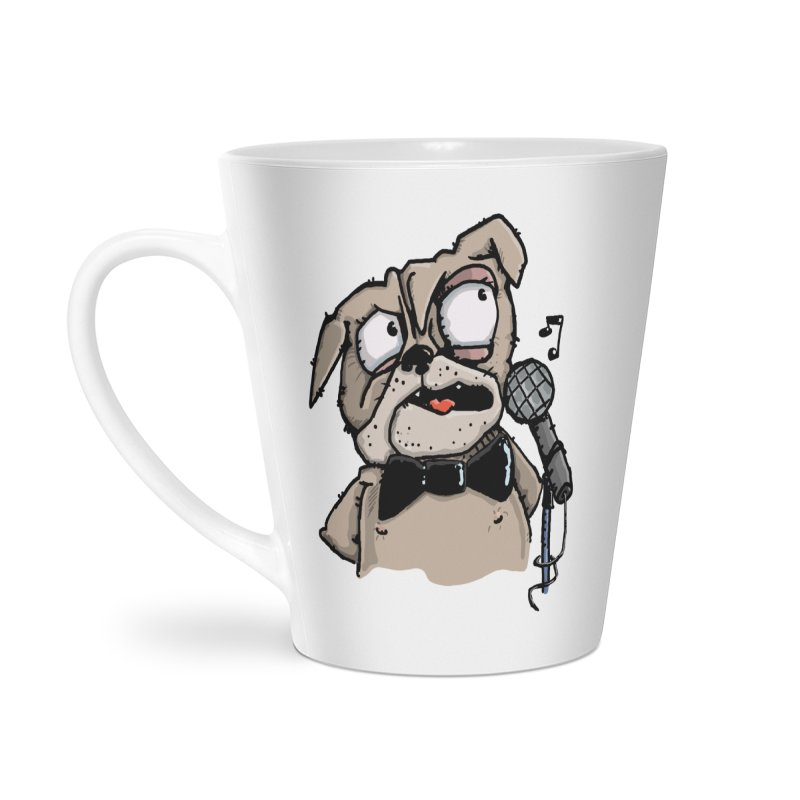 The Pug sings that old jazzy Tune. My Way in New York. Accessories Mug by Illustrated Madness