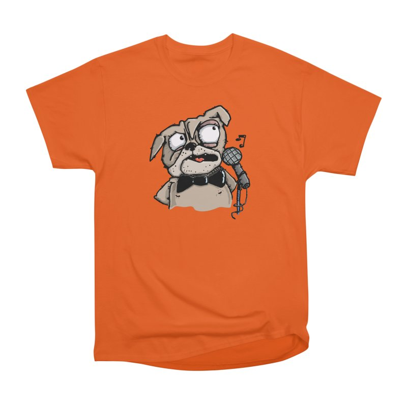 The Pugs sings that old jazzy Tune. My Way in New York. Men's Classic T-Shirt by Illustrated Madness