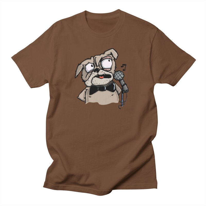 The Pugs sings that old jazzy Tune. My Way in New York. Women's Unisex T-Shirt by Illustrated Madness