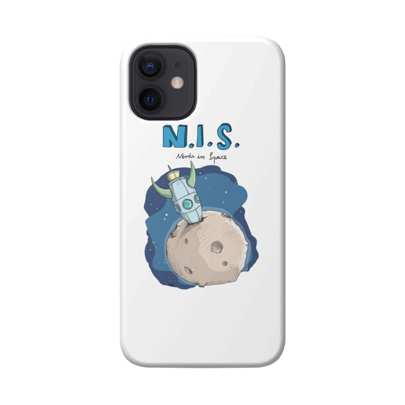 Nerds in Space. Is there intelligent Life in the Universe? Accessories Phone Case by Illustrated Madness
