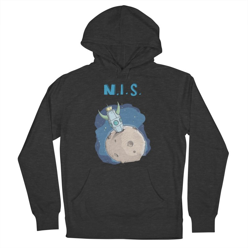 Nerds in Space. Is there intelligent Life in the Universe? Women's Pullover Hoody by Illustrated Madness