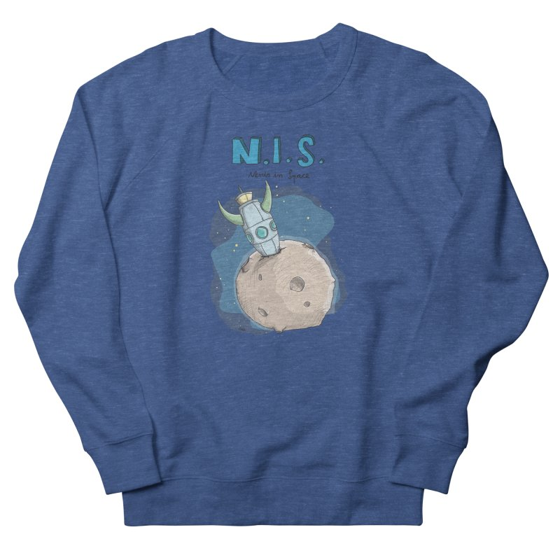 Nerds in Space. Is there intelligent Life in the Universe? Men's Sweatshirt by Illustrated Madness
