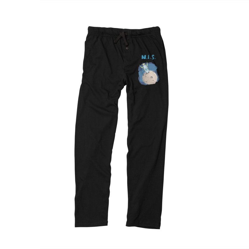 Nerds in Space. Is there intelligent Life in the Universe? Men's Lounge Pants by Illustrated Madness