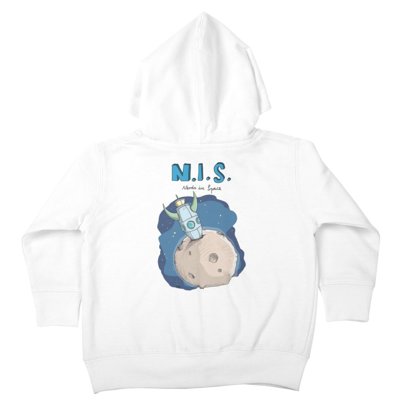 Nerds in Space. Is there intelligent Life in the Universe? Kids Toddler Zip-Up Hoody by Illustrated Madness