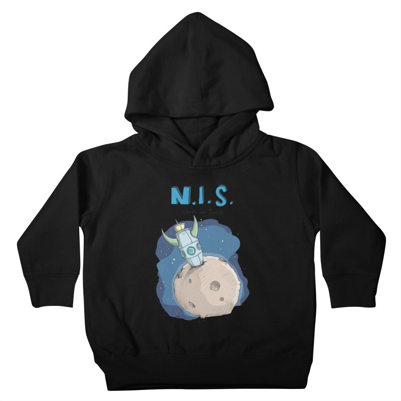 Nerds in Space. Is there intelligent Life in the Universe? Kids Toddler Pullover Hoody by Illustrated Madness