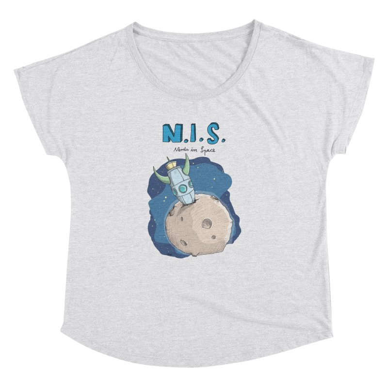 Nerds in Space. Is there intelligent Life in the Universe? Women's Dolman by Illustrated Madness