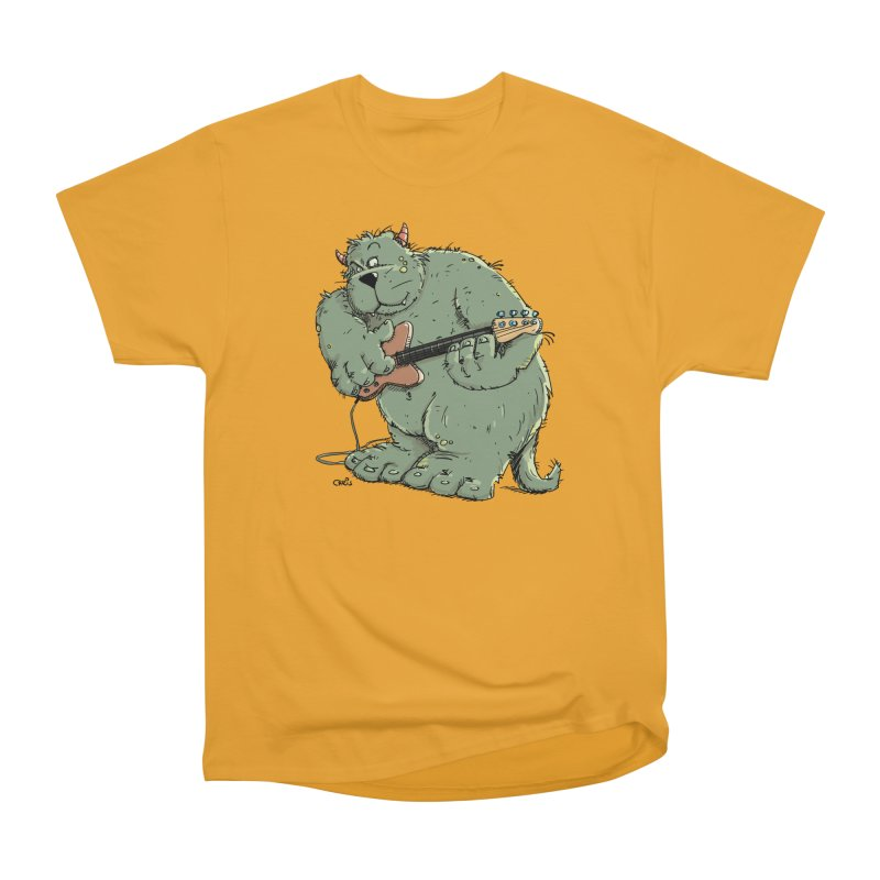 The Bassist is a real Monster Men's Classic T-Shirt by Illustrated Madness