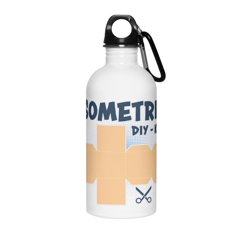 Isometric DIY Kit - Create Your own Dimension Accessories Water Bottle by Illustrated Madness