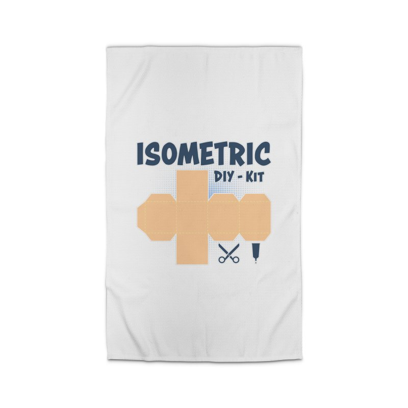 Isometric DIY Kit - Create Your own Dimension Home Rug by Illustrated Madness
