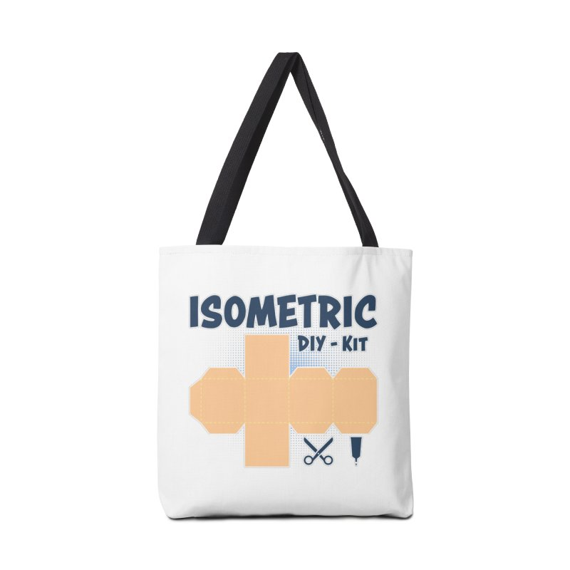 Isometric DIY Kit - Create Your own Dimension Accessories Tote Bag Bag by Illustrated Madness