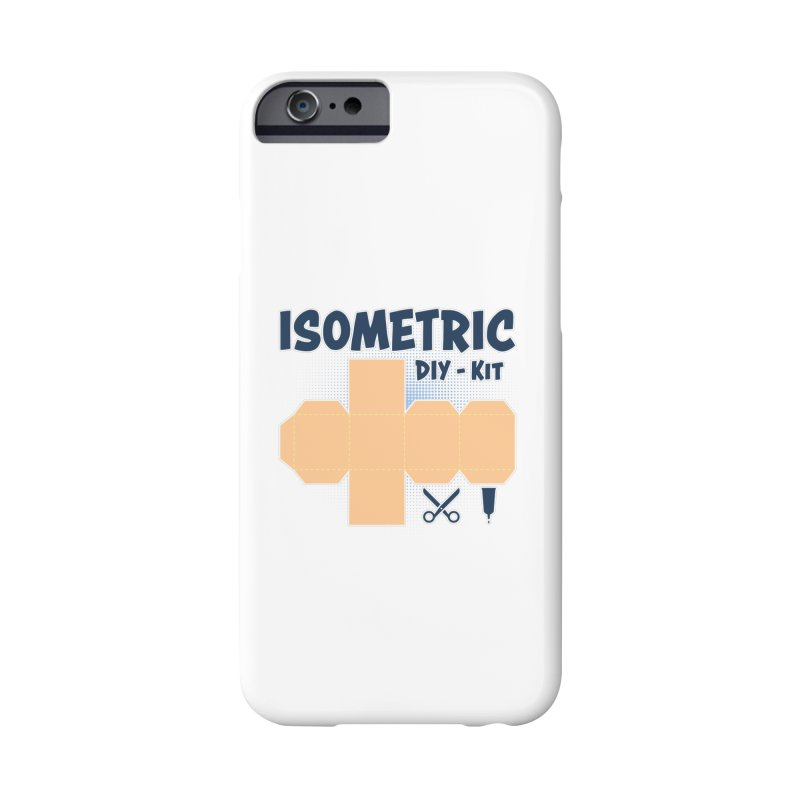 Isometric DIY Kit - Create Your own Dimension Accessories Phone Case by Illustrated Madness