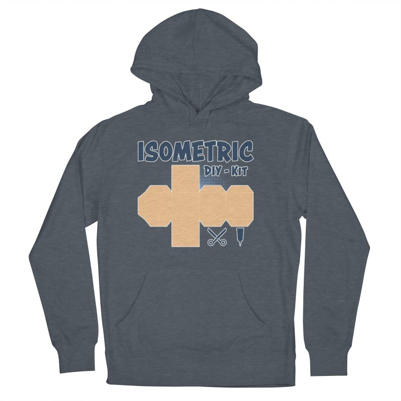 Isometric DIY Kit - Create Your own Dimension Men's Pullover Hoody by Illustrated Madness