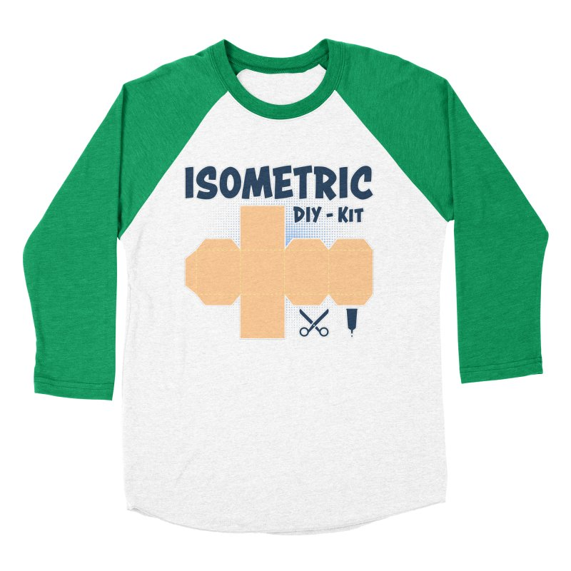 Isometric DIY Kit - Create Your own Dimension Men's Longsleeve T-Shirt by Illustrated Madness