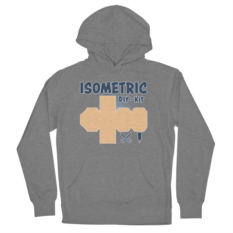 Isometric DIY Kit - Create Your own Dimension Women's Pullover Hoody by Illustrated Madness