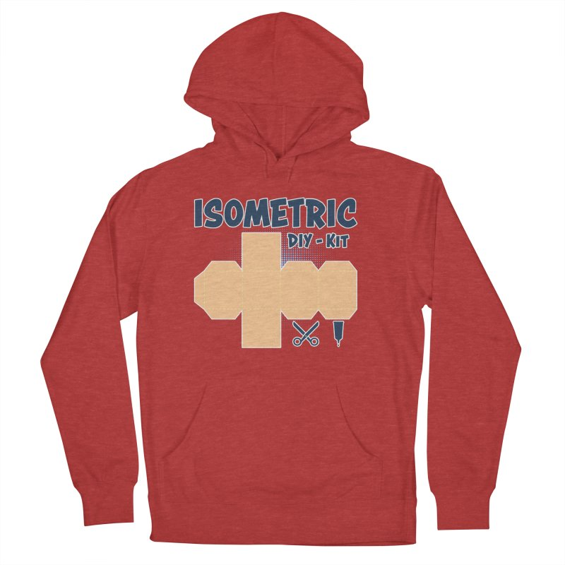 Isometric DIY Kit - Create Your own Dimension Women's French Terry Pullover Hoody by Illustrated Madness