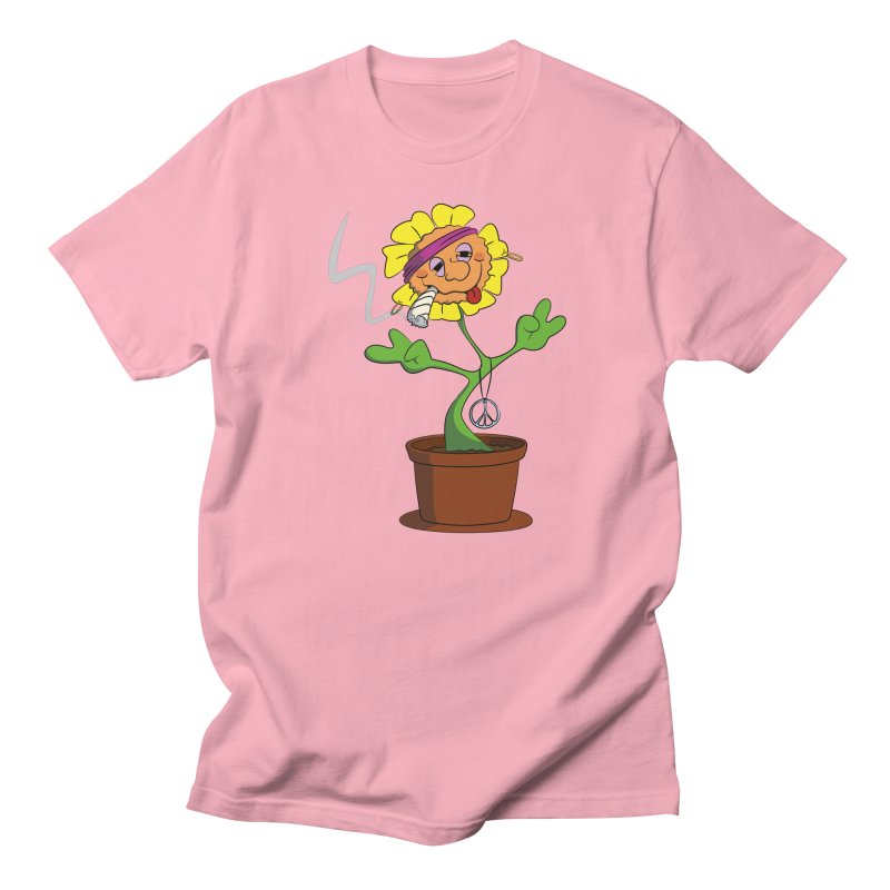 Weed Power to the Hippie Flower Men's T-Shirt by Illustrated Madness