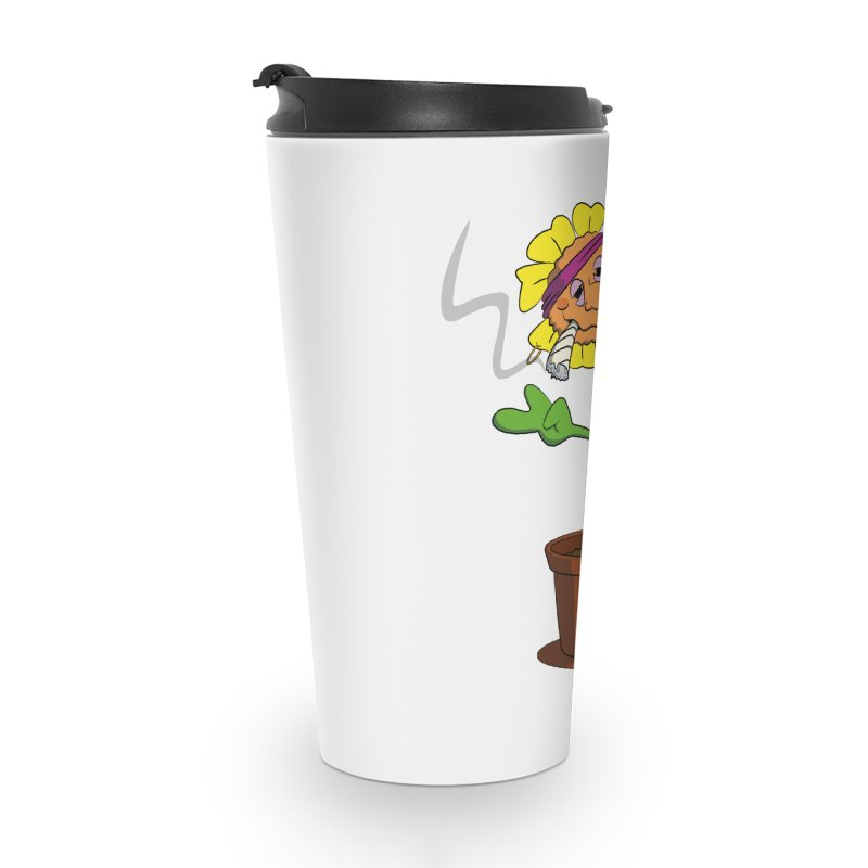 Weed Power to the Hippie Flower Accessories Mug by Illustrated Madness
