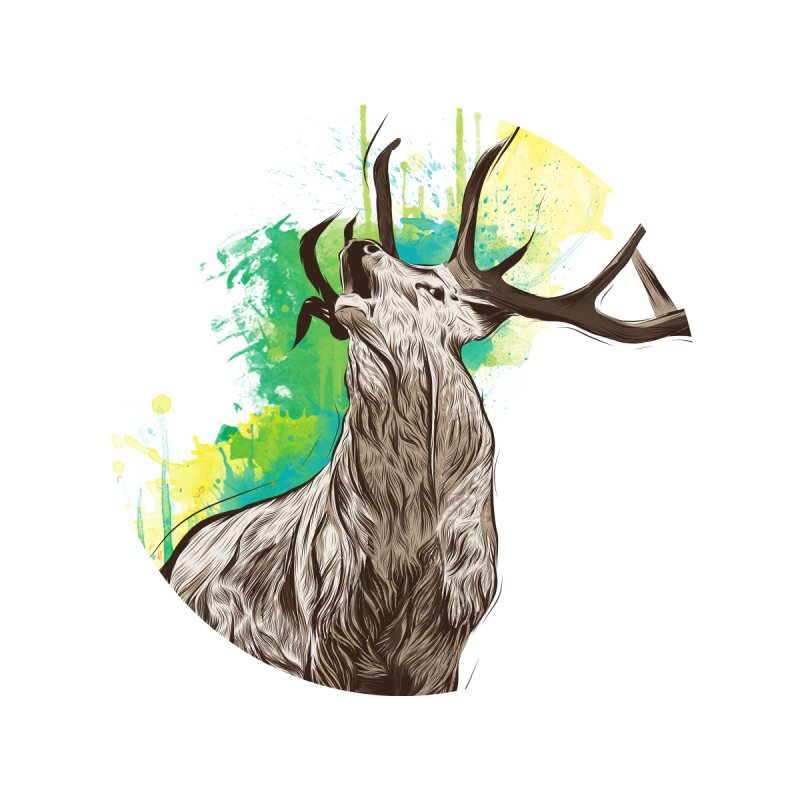King of The Forest None  by illustrateshire's Artist Shop