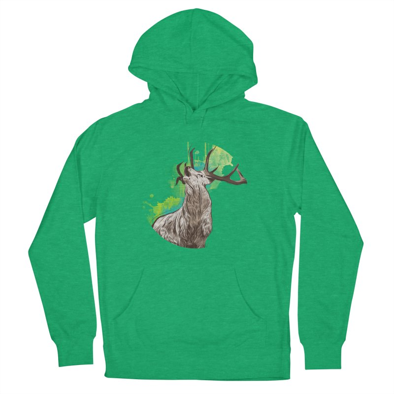 King of The Forest Women's Pullover Hoody by illustrateshire's Artist Shop