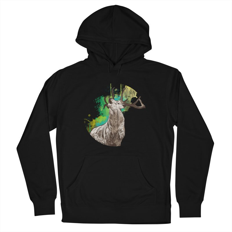 King of The Forest Men's Pullover Hoody by illustrateshire's Artist Shop