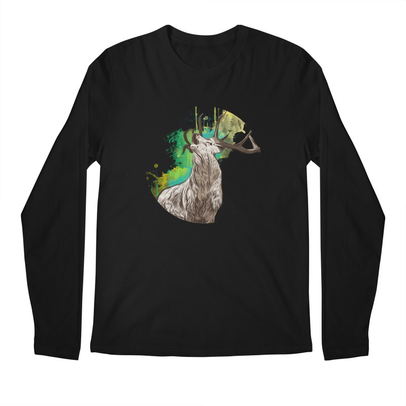 King of The Forest Men's Longsleeve T-Shirt by illustrateshire's Artist Shop