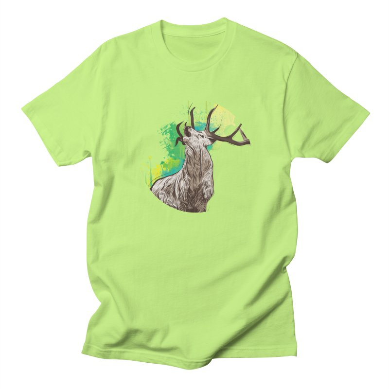 King of The Forest Men's T-shirt by illustrateshire's Artist Shop