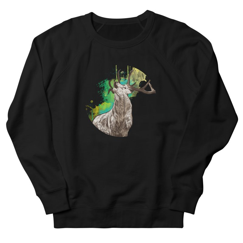 King of The Forest Men's Sweatshirt by illustrateshire's Artist Shop