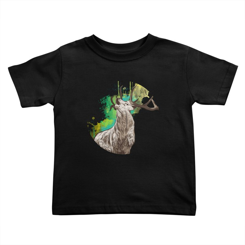 King of The Forest Kids Toddler T-Shirt by illustrateshire's Artist Shop