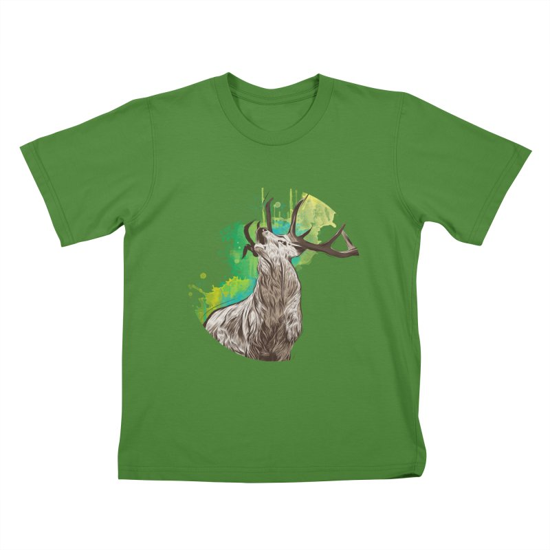King of The Forest Kids T-Shirt by illustrateshire's Artist Shop