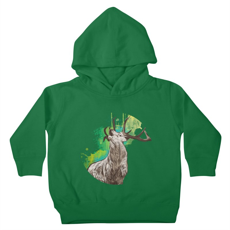 King of The Forest Kids Toddler Pullover Hoody by illustrateshire's Artist Shop