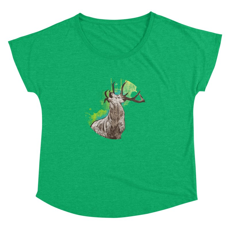 King of The Forest Women's Dolman by illustrateshire's Artist Shop