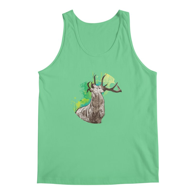 King of The Forest Men's Tank by illustrateshire's Artist Shop
