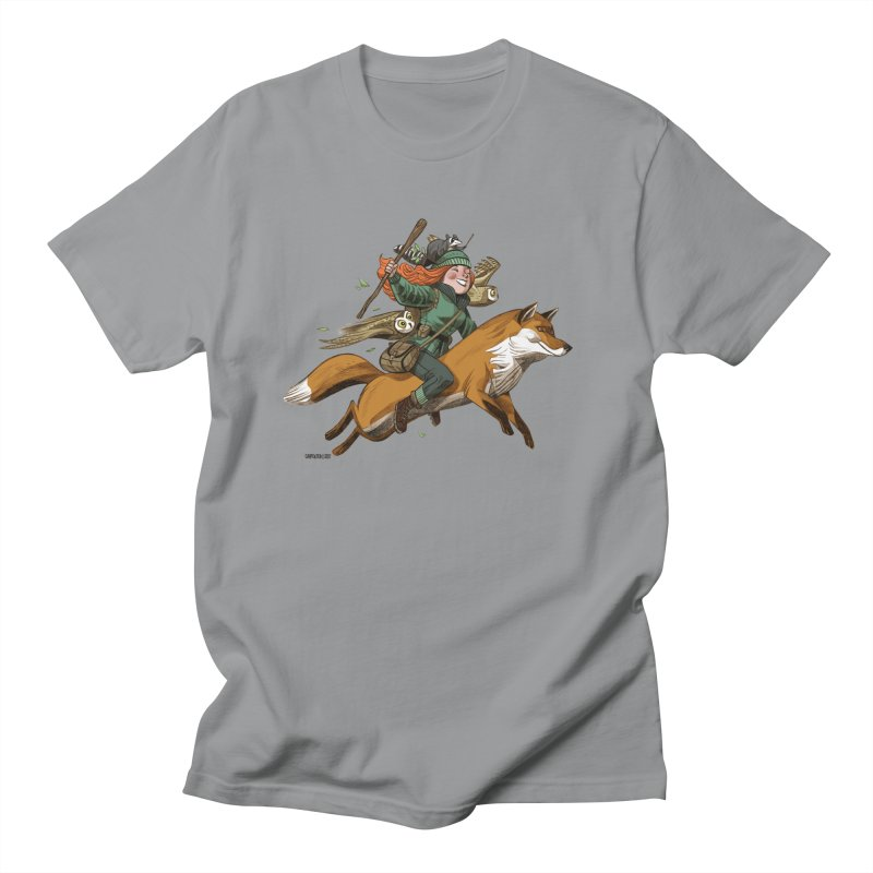 The Fox Men's T-shirt by Illustrationsville!