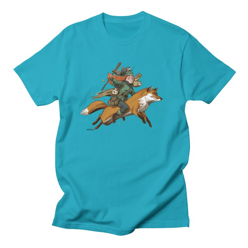 The Fox Men's T-shirt by Illustrationsville!