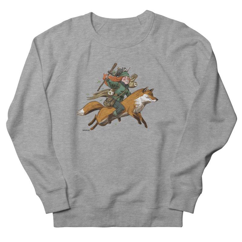 The Fox Women's Sweatshirt by Illustrationsville!