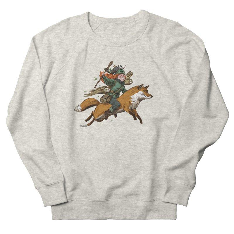 The Fox Men's Sweatshirt by Illustrationsville!