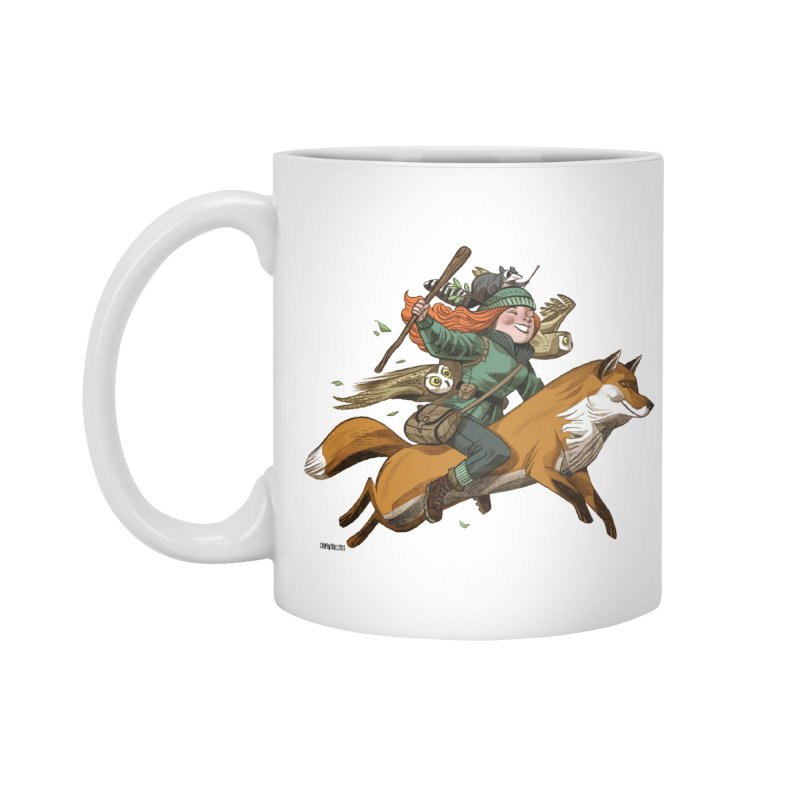 The Fox Accessories Mug by Illustrationsville!
