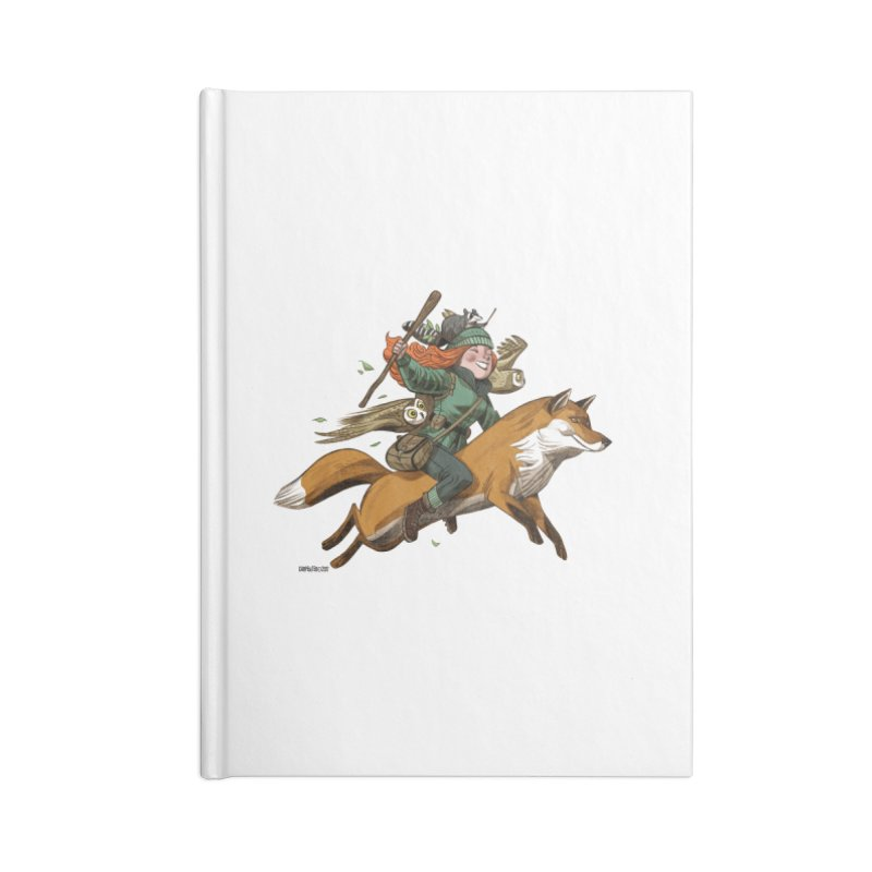The Fox Accessories Notebook by Illustrationsville!