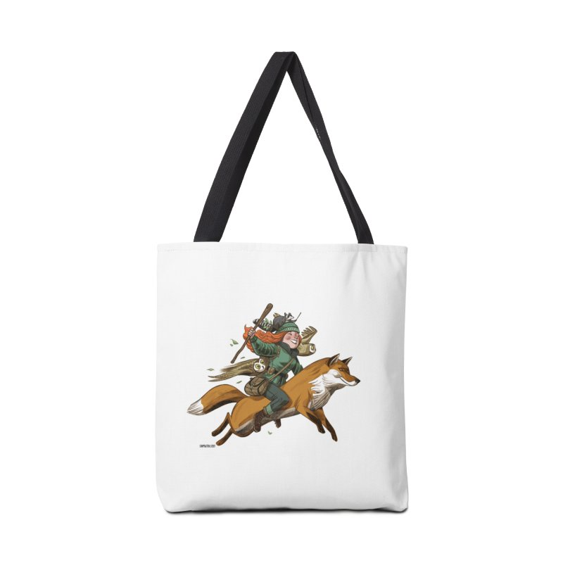 The Fox Accessories Bag by Illustrationsville!