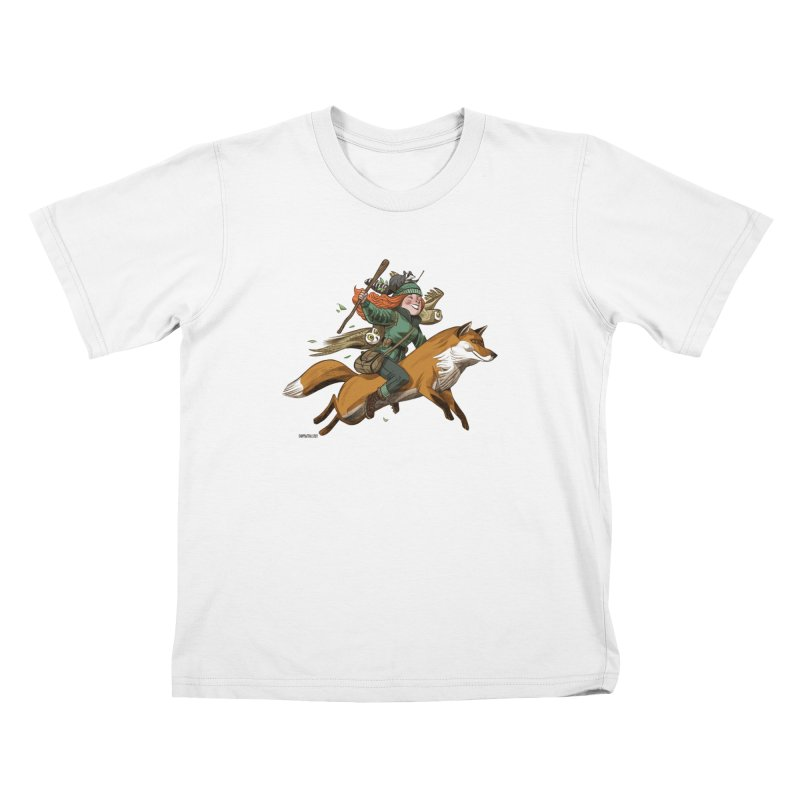 The Fox Kids T-Shirt by Illustrationsville!