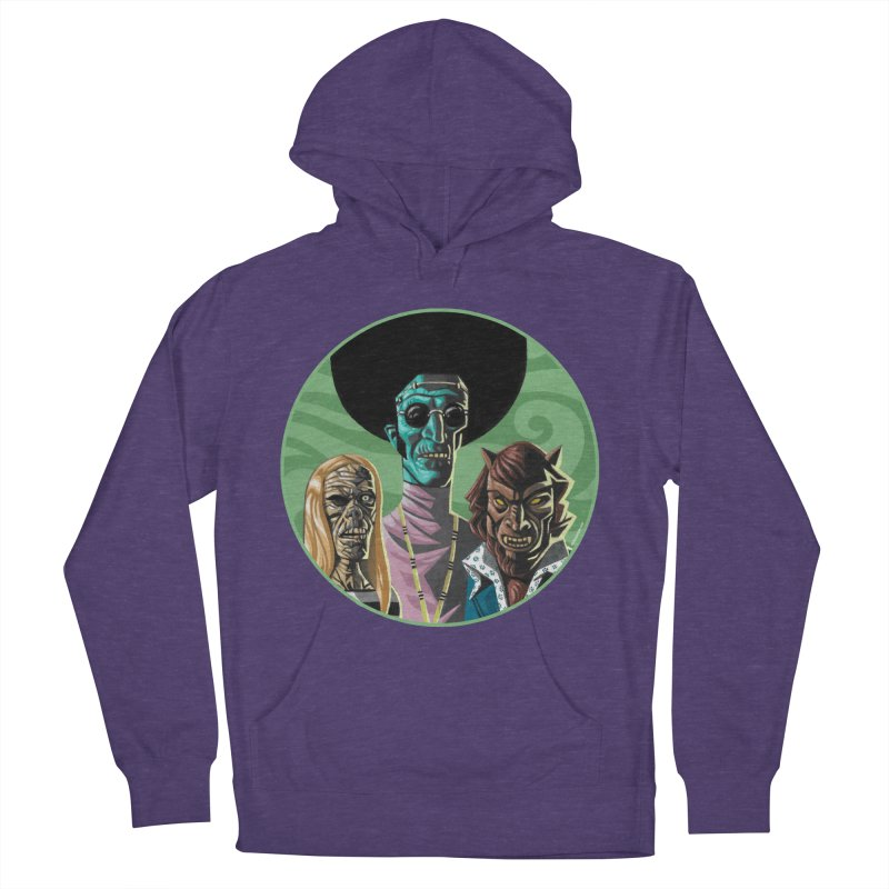 Mod Monster Squad Men's Pullover Hoody by Illustrationsville!