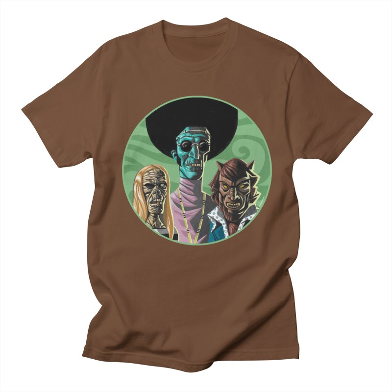 Mod Monster Squad Men's T-Shirt by Illustrationsville!