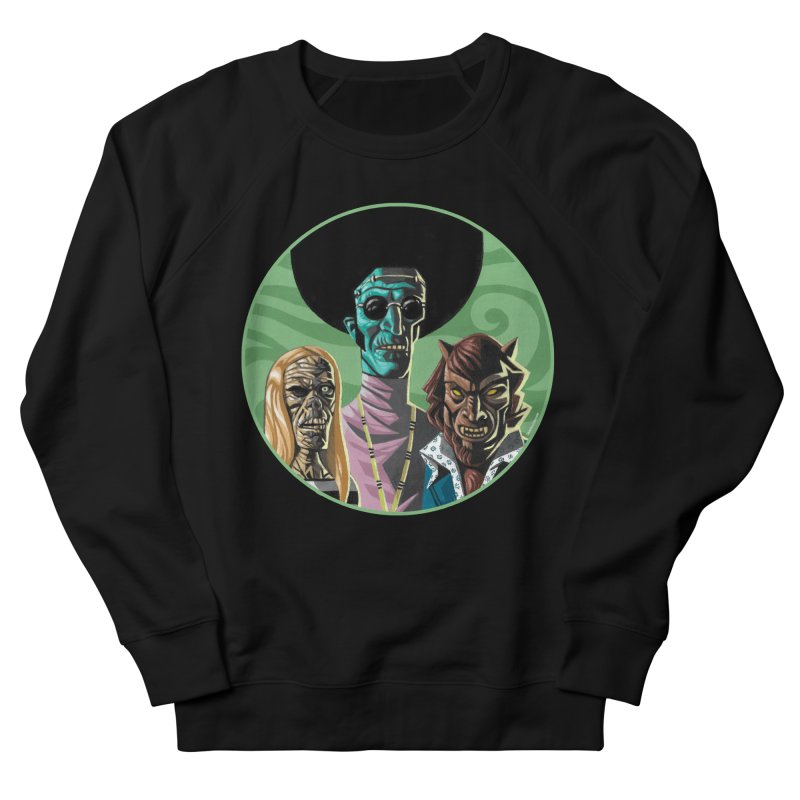 Mod Monster Squad Women's Sweatshirt by Illustrationsville!